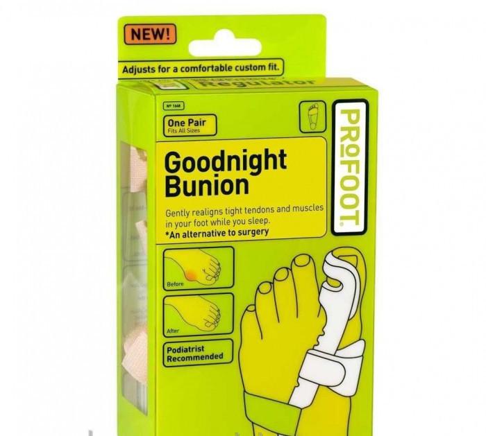 Фиксатор для большого пальца Goodnight Bunion - вальгусный фиксатор на ночь