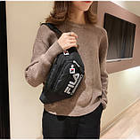 Женская бананка FILA поясная сумочка фила 8010/13 черная, фото 5