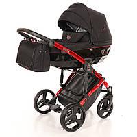 Детская коляска 2 в 1 Tako Junama Diamond Individual 01 Красная рама 13-JDI01, КОД: 287172
