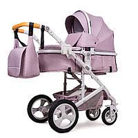 Универсальная коляска трансформер Ninos Brava Pink N2019BRAVAP, КОД: 1236514