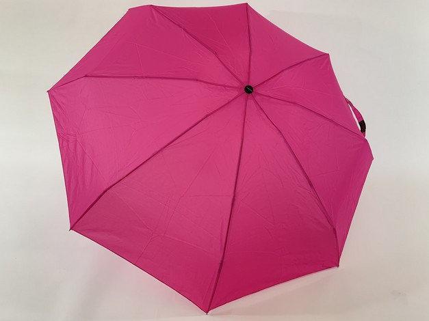 Зонт однотонный механика малиновый