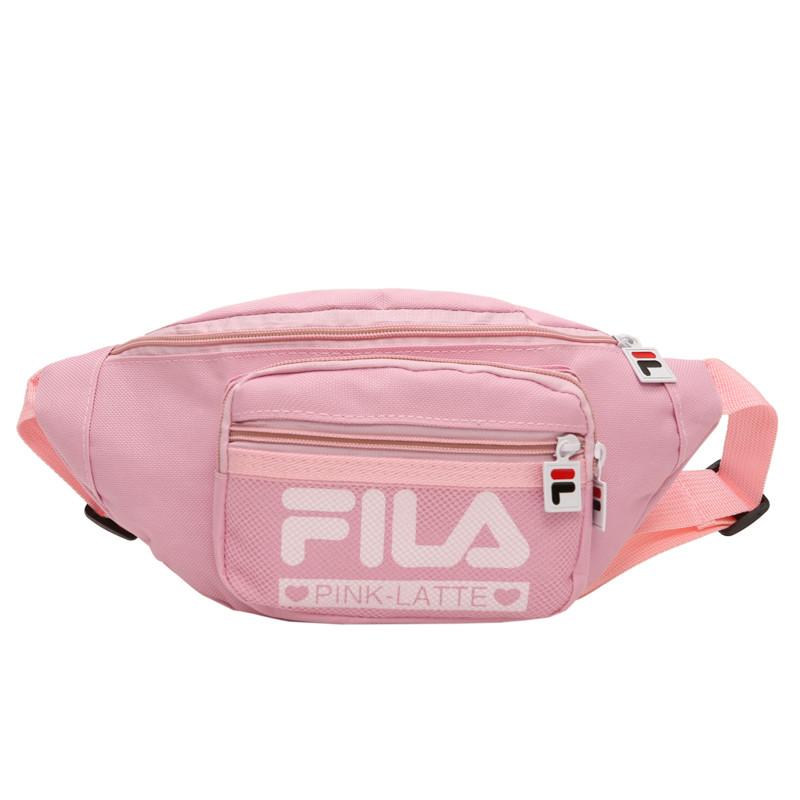Жіноча бананка FILA поясна сумочка філа 8010/13 рожева