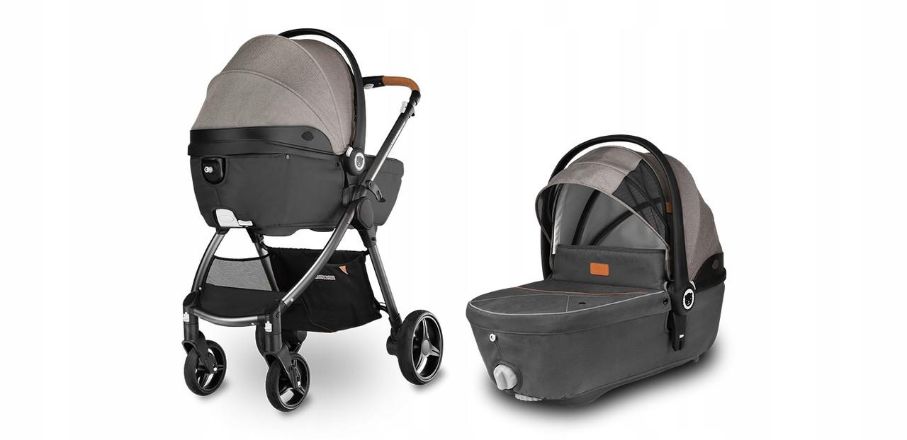 Универсальная детская коляска с люлькой 3 в 1 Lionelo Greet