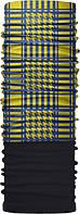 Зимовий бафф Бандана-трансформер Арафатка 2 Чорний з синьо-жовтим ZBT-068 2, КОД: 131868