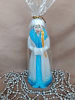 Новогодние украшения  под елку Снегурочка 20 см*9 см