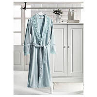 Soft cotton халат VICTORIA S пудра