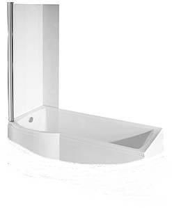 Шторка для ванни Inspiro 76x150 ліва Besco