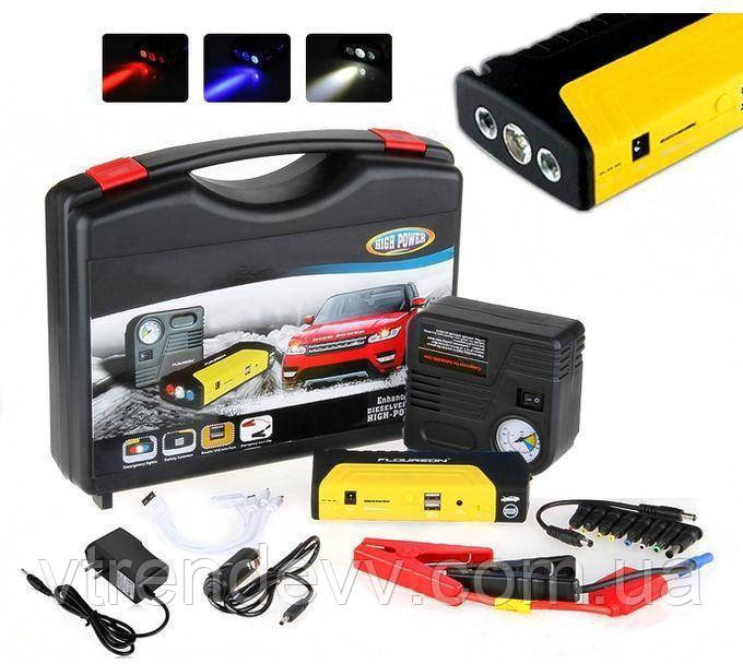 Автомобильное пуско-зарядное устройство High Power с компрессором 50800 mAh Li-Pol