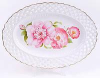 Блюдо Bona Китайская роза овальное 30 см psgBD-222-182, КОД: 1132586