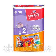 Підгузки Bella Happy Mini №2 (3-6 кг) 38 шт