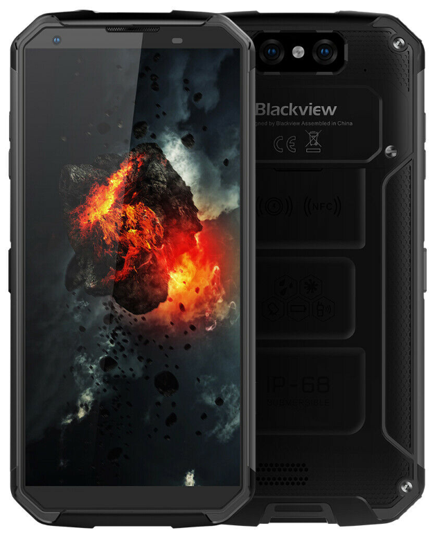 Blackview BV9500 Plus 4/64 Gb black IP68, NFC