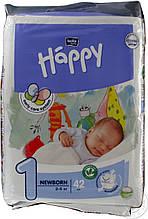 Підгузки Bella Happy Newborn №1 (2-5 кг) 42 шт
