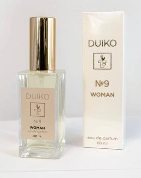 Аромат Duiko № 9 для женщин Кокетка 60 мл  Тибетская формула