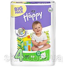 Підгузки Bella Happy Maxi №4 (8-18 кг) 66 шт