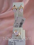 Серебряный набор Круиз с золотыми пластинами, фото 6