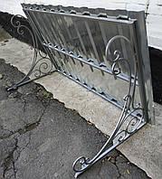 Козырек кованный для входной двери  1400х1000 мм
