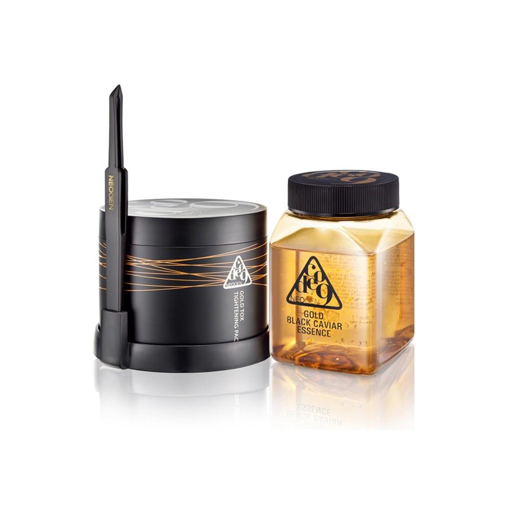 Neogen Gold Black Caviar Essence & Tox Tightening Pack Kit Омолаживающий комплекс