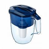 Фильтр-кувшин Аквафор Океан (синий) 3,9 л для очистки водопроводной воды, фото 3