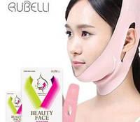 Маска для подтяжки контура лица RUBELLI Beauty Face, 7шт