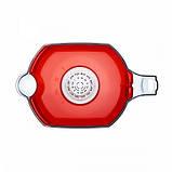 Фільтр-глечик Аквафор Океан (червоний) 3,9 л для очищення водопровідної води, фото 4