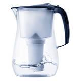 Фільтр-глечик Аквафор Прованс (чорний) 4,2л для очищення водопровідної води, фото 3