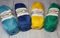 Хлопковая пряжа Ализе Бахар BAHAR все цвета
