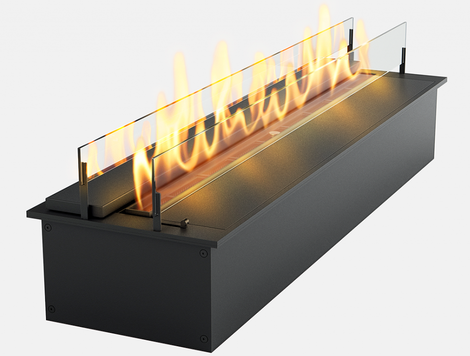 Дизайнерский биокамин Gloss Fire Slider color 600