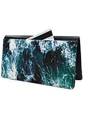 Портмоне DevayS Maker  DM 13 Морские волны Синий 30-0113-466, КОД: 1239213