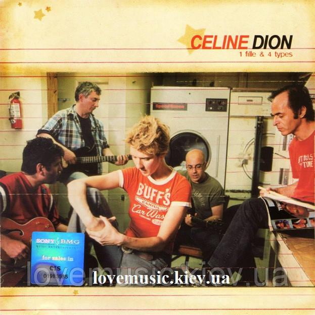Музичний сд диск CELINE DION Une files & 4 types (2003) (audio cd)