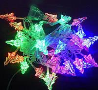 Гирлянда светодиодная Ёлочки 3D L40 мульти