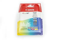 Набор картриджей canon cli-426 cyan/magenta/yellow multi pack (4557b006)