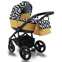 Дитяча коляска BEXA FRESH LIGHT 2 в 1 FL15 Чорний з оранжевим 3072018070, КОД: 126276