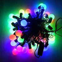 Гирлянда светодиодная шарики L40 мульти