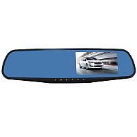 Зеркало видеорегистратор Lesko 4.3 Car H433 ver.1 c камерой заднего вида Full HD 1080Р Черный 213, КОД: 1126761