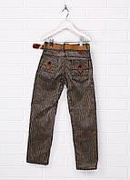 Темно-серые демисезонные со средней талией брюки TITALAND 8л, 11л. 12л