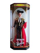 Коллекционная кукла Барби Испания Куклы Мира Barbie Spanish Dolls of the World Collection 1999 Mattel 24670