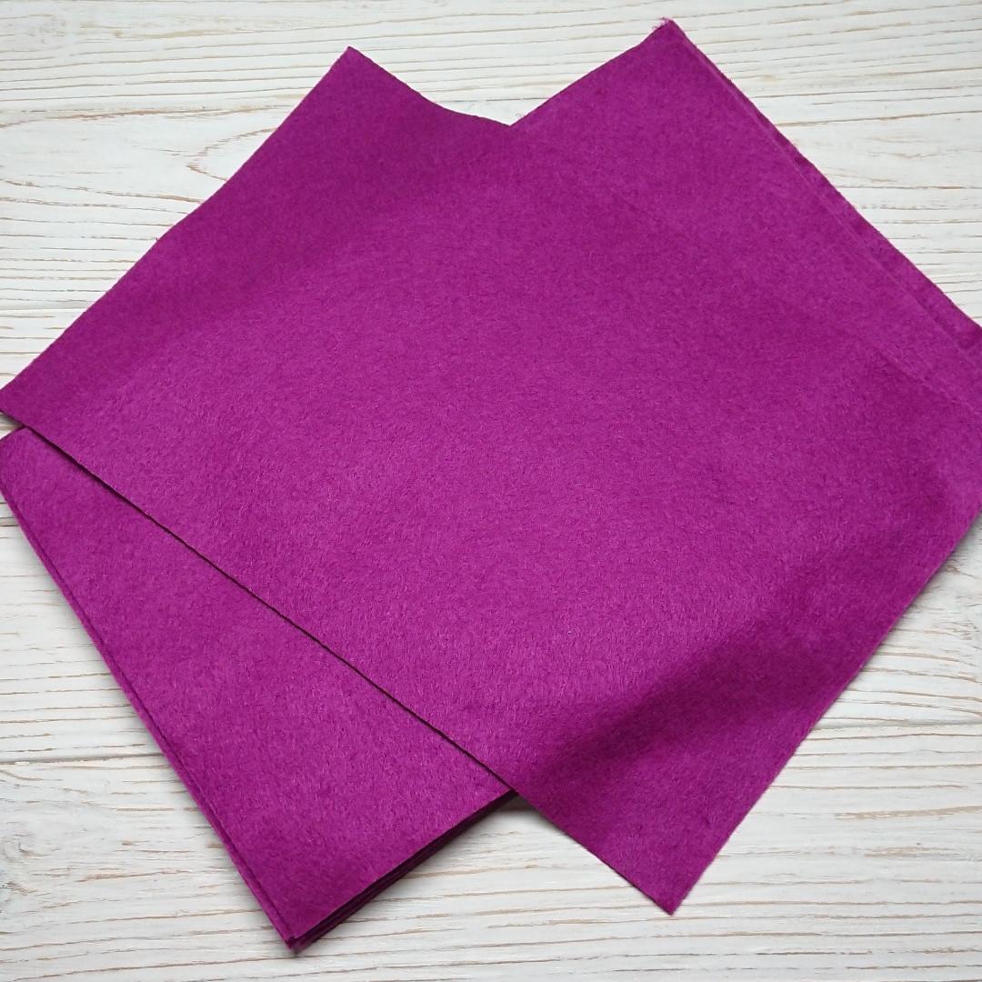 Фетр мягкий 1.3 мм, Royal Тайвань темно-лиловый 20*30 см