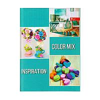 """Блокнот А5 твёрдая обложка, 72 л. """"Color mix inspiration"""" ТП-5"""