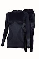 Комплект женского термобелья Haster UltraClima S-M Черный h0190, КОД: 124832