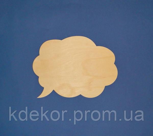 Текстове хмара (мислеформа) заготівля для декупажу та декору