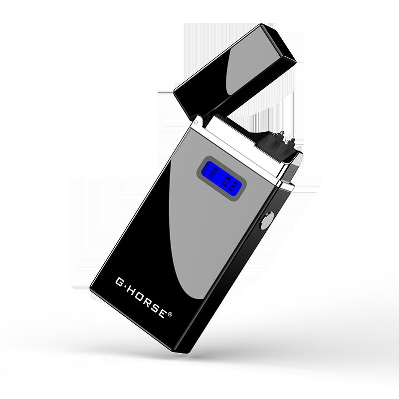 Электроимпульсная USB зажигалка G-HORSE black 099_1