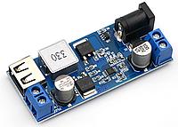Стабилизатор понижающий USB DC-DC 9-36В на 5.2В 6А 25Вт, фото 1