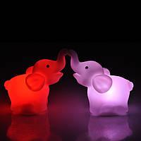 Ночник Слон светодиодный свет силиконовый для детей и детей подарок Хелловін хелоуин Halloween