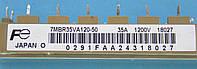 Инвертор IGBT NPN 3Ф с Диодным мостом 1200В 35А FE 7MBR35VA120-50 Module