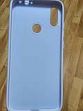 Накладка   Silicon Cover full   для  Xiaomi Redmi Note 7 / Note 7 Pro (фиолетовый), фото 3