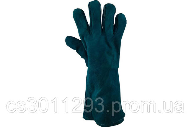 """Перчатки PRC - замшевые краги 40см x 14"""", фото 2"""