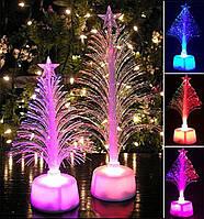 Елка светодиодный волокно оптическое, для дома украшения детский подарок к празднику Хелловін хелоуин Hallo