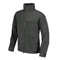 Куртка флисовая Helikon-Tex® CLASSIC ARMY Jacket - Fleece - Темно-серая