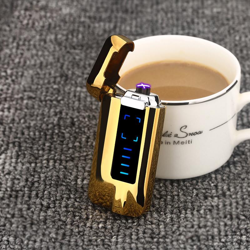 Электроимпульсная USB зажигалка cosmo gold 072_4