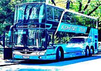 Автобус Van Hool 75 мест 2-х этажный аренда